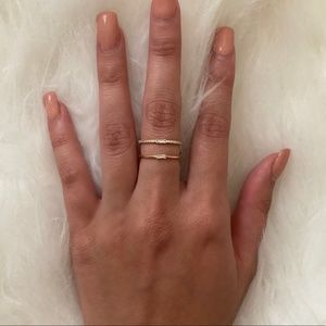 Jewelry - NEW Gold Two Level Ring - 4 for $20